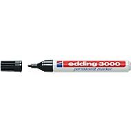 edding marqueur permanent 3000, noir, 1 pièce