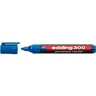 EDDING Permanent marker 300, met ronde punt, 1 stuk, blauw
