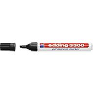EDDING Permanent Marker 3300, mit Keilspitze, 10teilig, sortiert