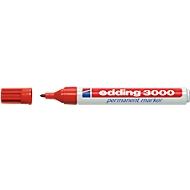edding Permanentmarker 3000, 10 Stück, rot