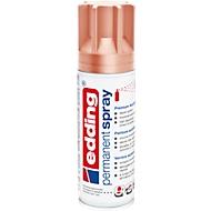 edding Spray 5200, 200 ml, premium acryllak mat, spuitbreedte ca. 50-60 mm, koper mat