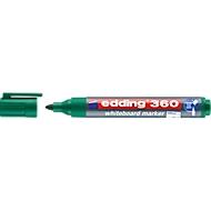 edding Whiteboard Marker 360, Rundspitze, 1 Stück, grün