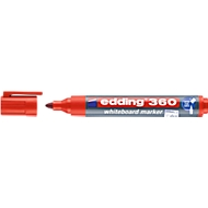 edding Whiteboard Marker 360, Rundspitze, 1 Stück, rot