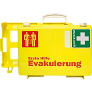 EHBO-koffer evacuatie, met 1 reddingszetel, opvallende kleurencombinatie
