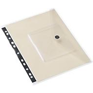 EICHNER documenthoesje, A4, klittenbandsluiting, PP