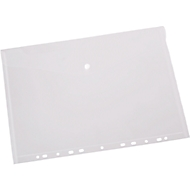 EICHNER documenthoesje, A4, open aan zijkant, 10 stuks