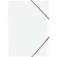 EICHNER Eckspannmappe, DIN A4, 3 Flügelklappen, 10 Stück, weiß
