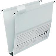 EICHNER hangmap, voor formaten tot A4, 30 mm, open aan zijkant, pvc