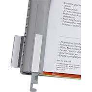 EICHNER metalen hangprofielen voor personeelsmappen, A4, 10 stuks