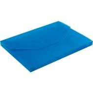 EICHNER Sammelbox, überbreit, Steckverschluss, Polypropylen, 5 Stück, transparent-blau