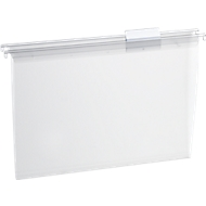 EICHNER transparante hangmap, bovenaan open, polypropeen, 15 stuks