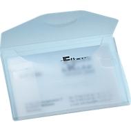 EICHNER Visitenkarten-Etui PP, für 20 Visitenkarten, weiß-transluzent