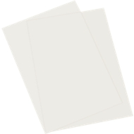 Einbanddeckel PolyClear, PP, transparent matt, DIN A4, 25 Stück