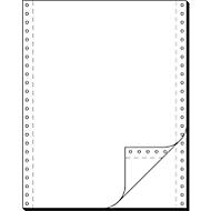 Eindeloos kettingpapier, 2 vouwen,12