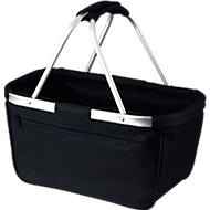Einkaufskorb Basket, schwarz