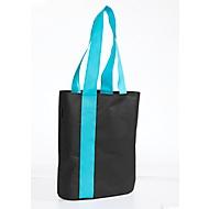 Einkaufstasche 2 COLOURS, 2 Vordertaschen, Bodenfalte, Werbedruck 1-farbig 150 x 200 mm, hellblau