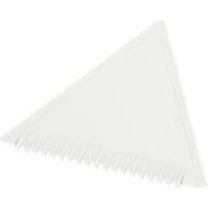 Eiskratzer Dreieck, aus Kunststoff, weiss