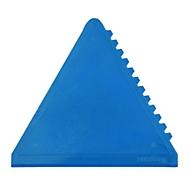 Eiskratzer - dreieckig, 3 Kratzflächen, Blau, Auswahl Werbeanbringung optional