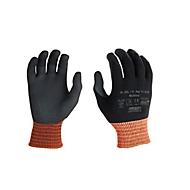 Elastaan gebreide handschoen Multitex, met nitril microschuimcoating, 12 paar, maat, XL