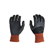 Elastaan gebreide handschoen Oilatex, met 3/4-nitrilcoating, vloeistofdicht, 12 paar, maat