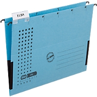ELBA chic® ULTIMATE hangmap, voor formaten tot A4, kunststof, 25 stuks, blauw