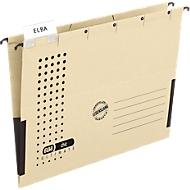 ELBA chic® ULTIMATE hangmap, voor formaten tot A4, kunststof, 25 stuks, chamoisgeel