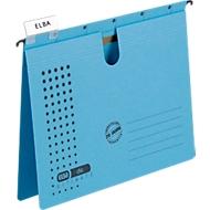 ELBA Dossiers supsendus chic® ULTIMATE, reliure métallique, bleu, 25 pièces