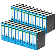 ELBA ordner rado, A4, rugbreedte 80 mm, 20 stuks, blauw