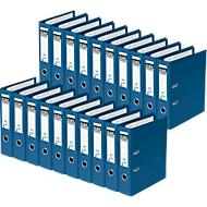ELBA ordner rado plast, A4, rugbreedte 80 mm, 20 stuks, blauw