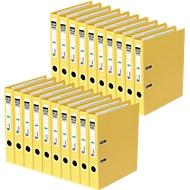 ELBA Ordner rado plast, DIN A4, Rückenbreite 50 mm, 20 Stück, gelb