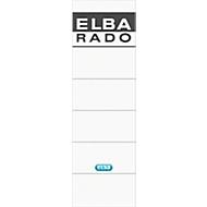 ELBA rado Rückenschilder, Rückenbreite 80 mm, selbstklebend, 10 Stück