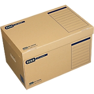 ELBA transportdozen Tric systeem, B 545 x D 360 x H 320 mm, bruin, 10 stuks