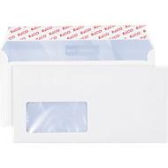 Elco Briefumschläge Premium, DIN lang (C5/6), Fenster links, 500 Stück