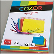 Elco Color Kuverts C6 5 Farben assortiert