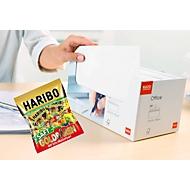 ELCO Kuvert mit Haftklebeverschluß mit Fenster C5/6 in Box + HARIBO Saft Golbären Minis GRATIS