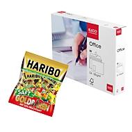 ELCO Kuvert mit Haftklebeverschluß mit Fenster DIN C4 in Box + HARIBO Saft Golbären Minis GRATIS