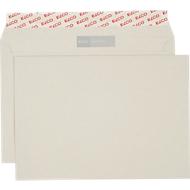 ELCO sycling-Recycling-Briefumschläge, DIN C5, ohne Fenster, 500 Stück