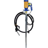 Elektrische Fasspumpe JP-280 ALU 1000, für Diesel & Öle, 112 l/min, Schlauch, 2 Schlauchklemmen & Zapfpistole