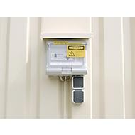 Elektroinstallation IP 44, für Materialcontainer MC 1100-1600
