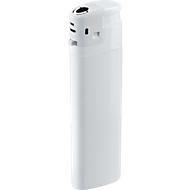 Elektronik-Feuerzeug, mit Kindersicherung, weiß/weiß