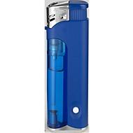Elektronik-Feuerzeug, mit LED-Leuchte, blau