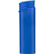 Elektronik-Feuerzeug, piezoelektronische Zündung, nachfüllbar, mit Kindersicherung, blau