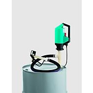 Elektropumpe CEMO, Chemie-Set, für IBC, 1200 mm Tauchtiefe, Motor 230 VAC, 850 W, 2m Schlauch, Zapfpistole