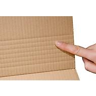 Emballages universels, en carton ondulé, DIN A5, pack de 25