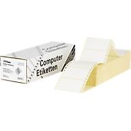 Endlos-Etiketten, 1-bahnig, 88,9 x 48,4 mm, 3000 Stück
