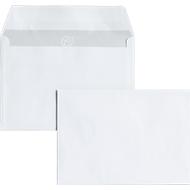 Enveloppen, C6, zonder venster, klevend, 25 stuks