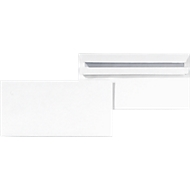 Enveloppen, DL, zonder venster, sluiting recht, zelfklevend, 1000 stuks