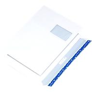 Enveloppes C4 av. fenêtre 110mm, 250 p.