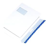 Enveloppes C4 av. fenêtre 20mm, 250 p.