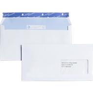 Enveloppes C6/5 av. fenêtre, 500 p.